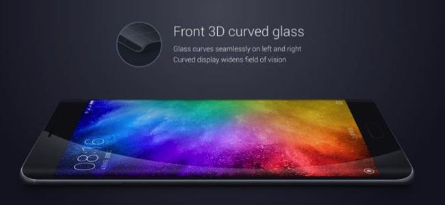 Xiaomi Mi Note 2 màn hình tràn cạnh