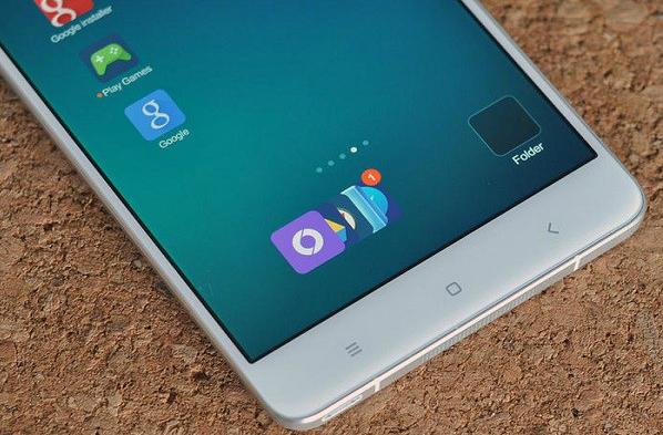 Xiaomi Mi Note thiết kế đẹp