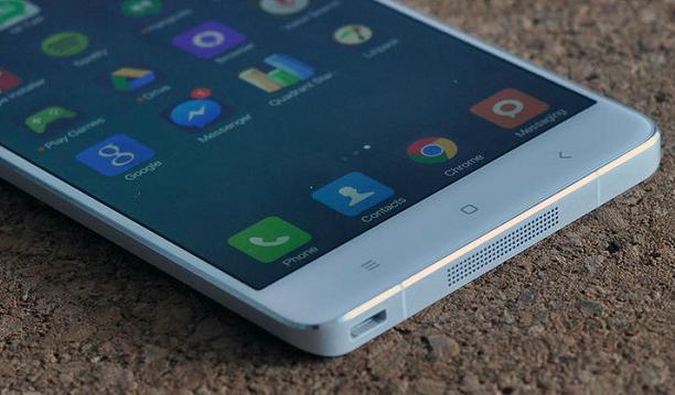 Xiaomi Mi Note thiết kế ấn tượng