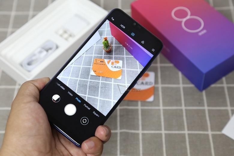 Xiaomi Mi 8 Lite có camera trước chụp ảnh chất lượng