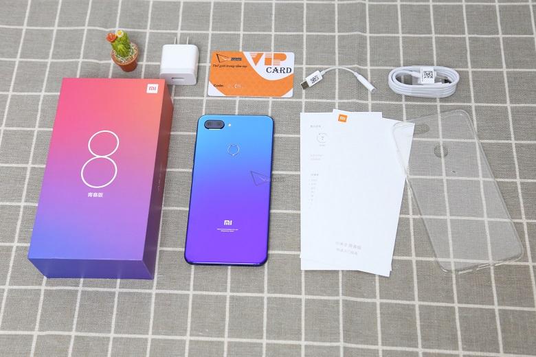 Xiaomi Mi 8 Lite có cấu hình tốt