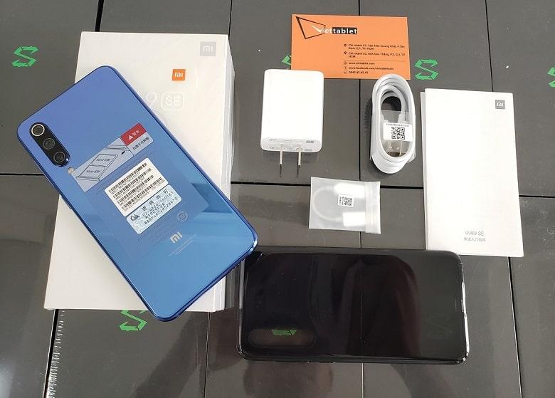 Xiaomi Mi 9 SE chính hãng xách tay 64 128gb mới fullbox có tiếng việt