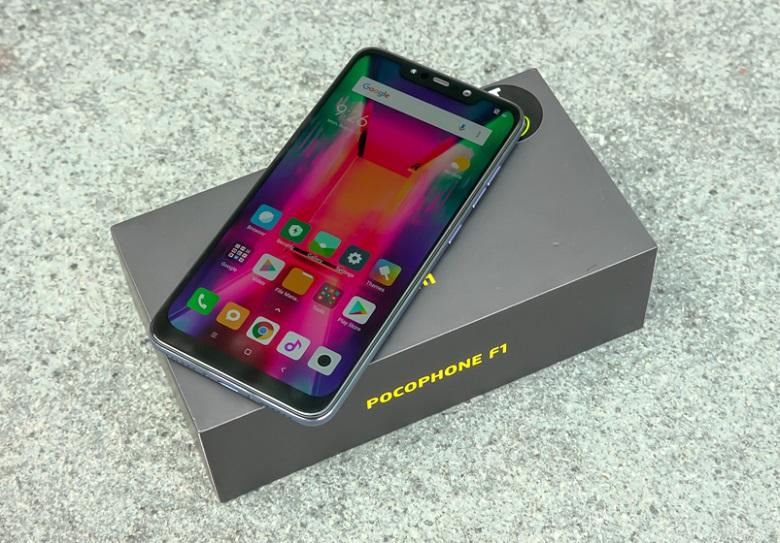 Xiaomi Pocophone F1 smartphone giá tầm trung cấu hình khủng