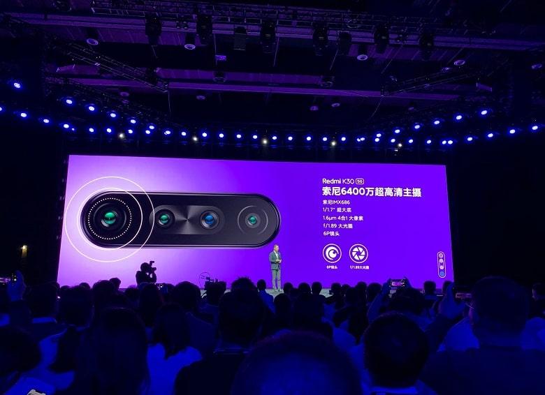camera của Xiaomi Redmi K30 5G