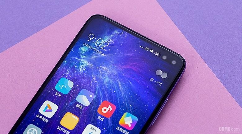 màn hình Xiaomi Redmi K30 5G đẹp xuất sắc