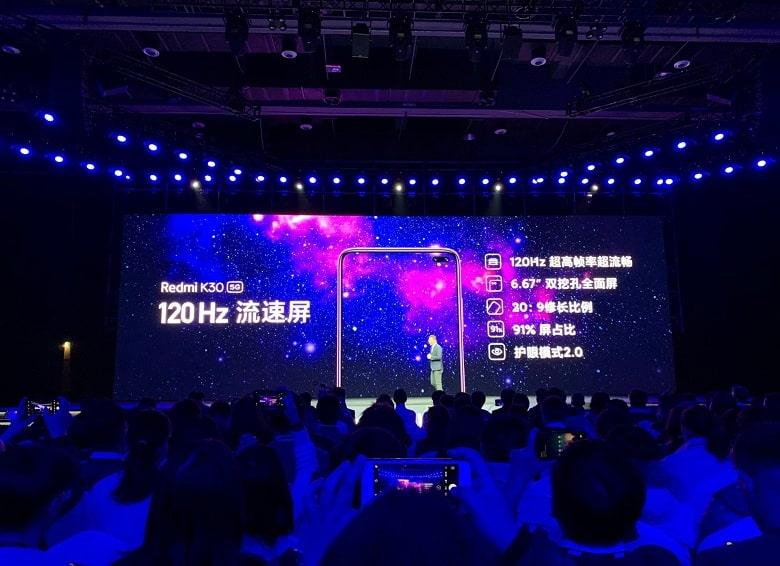 màn hình Xiaomi Redmi K30 5G