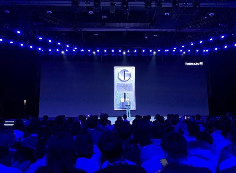 vân tay của Xiaomi Redmi K30 5G