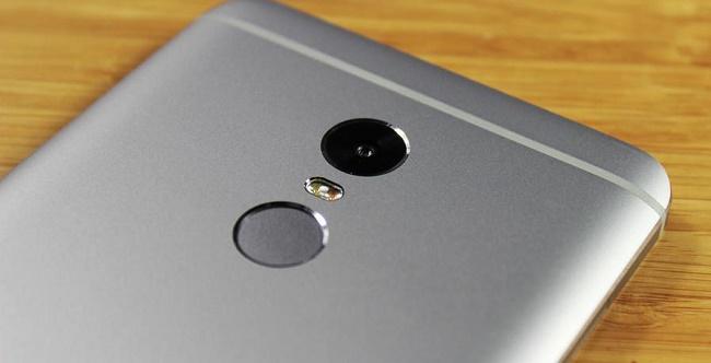 Xiaomi Redmi Note 4 bảo mật vân tay