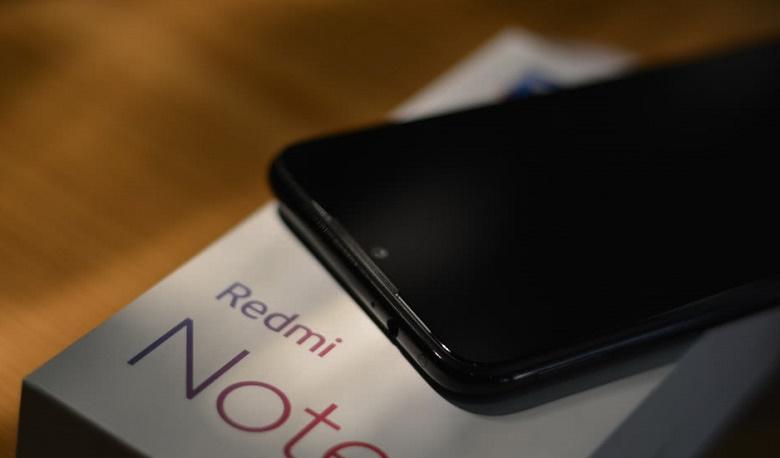 Xiaomi Redmi Note 7 thiết kế góc cạnh