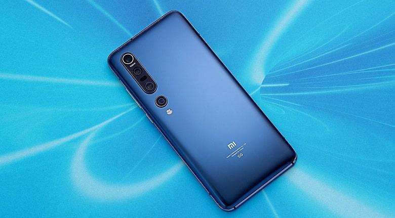 thiết kế Xiaomi Mi 10 Pro 5G