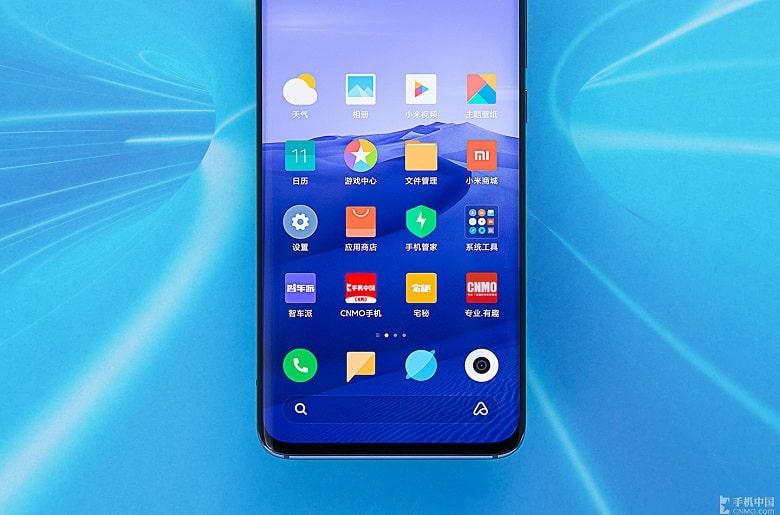 vân tay Xiaomi Mi 10 Pro 5G