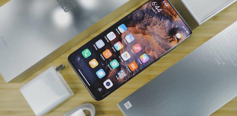 màn hình Xiaomi Mi 10 Ultra