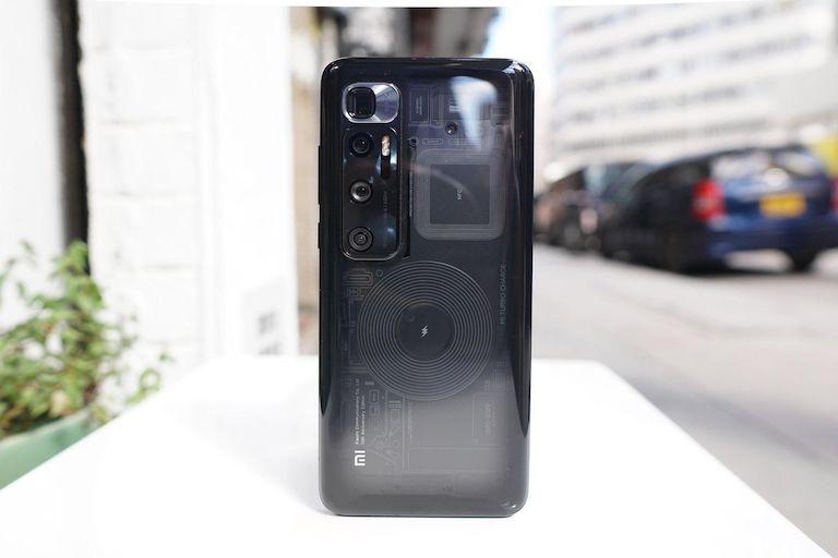 thiết kế Xiaomi Mi 10 Ultra