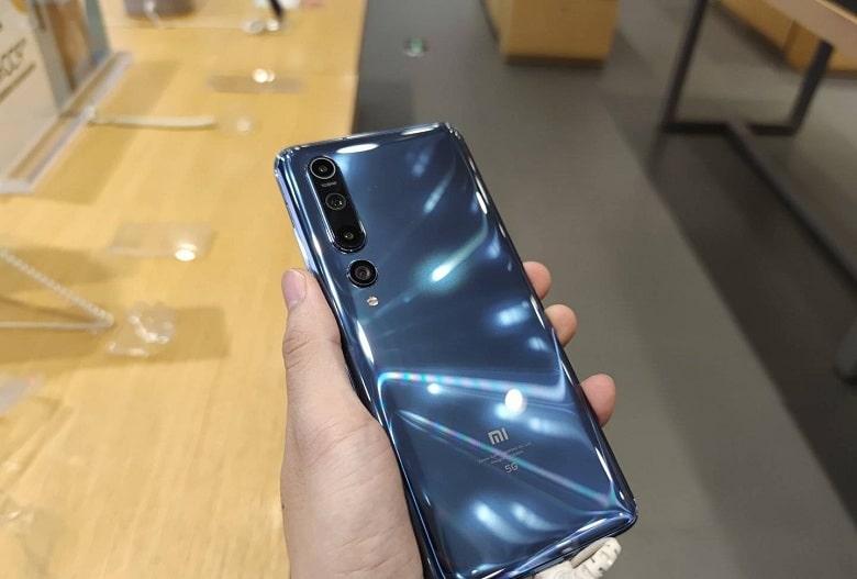 thiết kế Xiaomi Mi10 5G