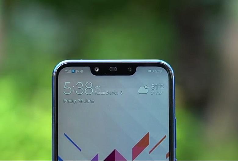 camera trước Huawei Nova 3i