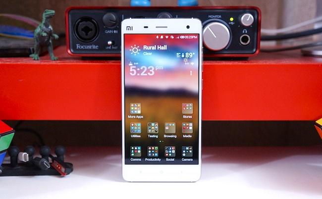 Xiaomi mi4 màn hình