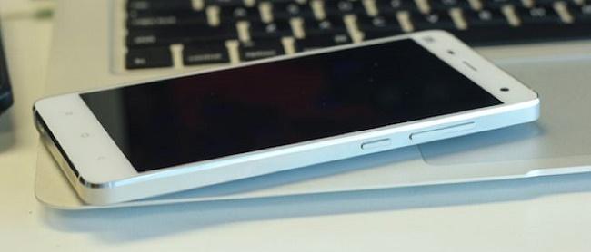 Xiaomi Mi4 chính hãng thiết kế kim loại