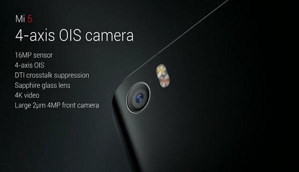 Thông số ấn tượng của camera