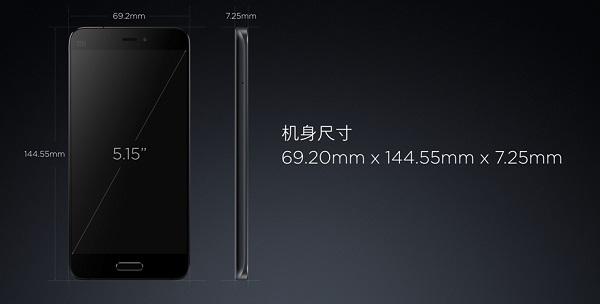Xiaomi mi5 thiết kế như iphone