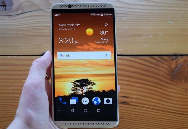 ZTE Axon 7 có màn hình 2K sắc nét