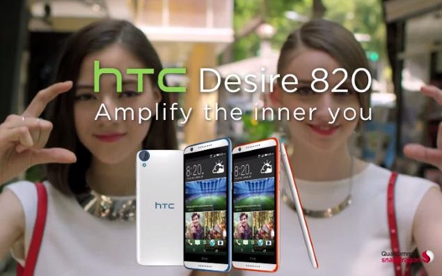 HTC Desire 820 dual sim ấn tượng
