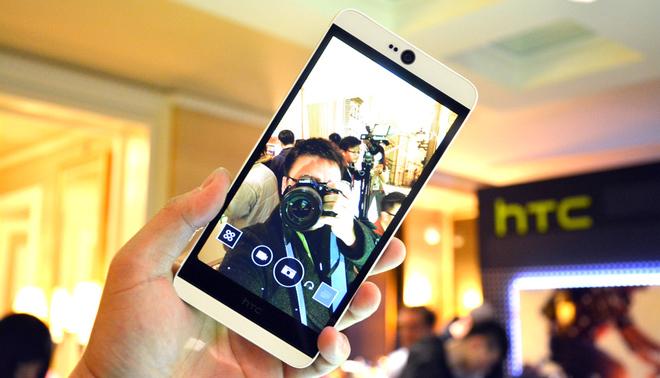 HTC Desire 826 sở hữu màn hình sáng đẹp