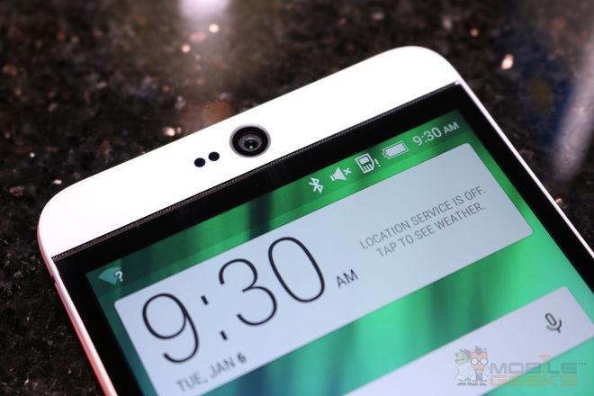 HTC Desire 826 thiết kế hiện đại