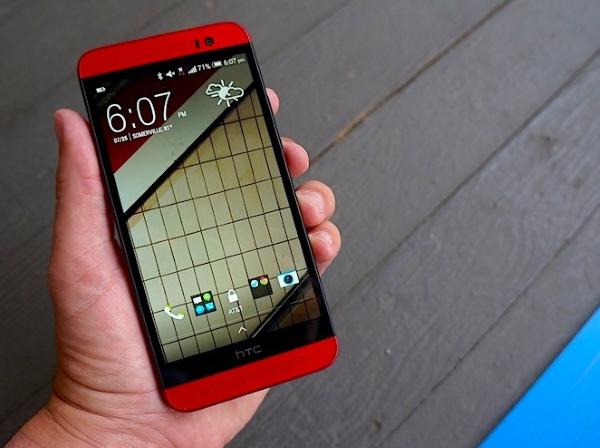 HTC One E8 màn hình sáng sắc nét