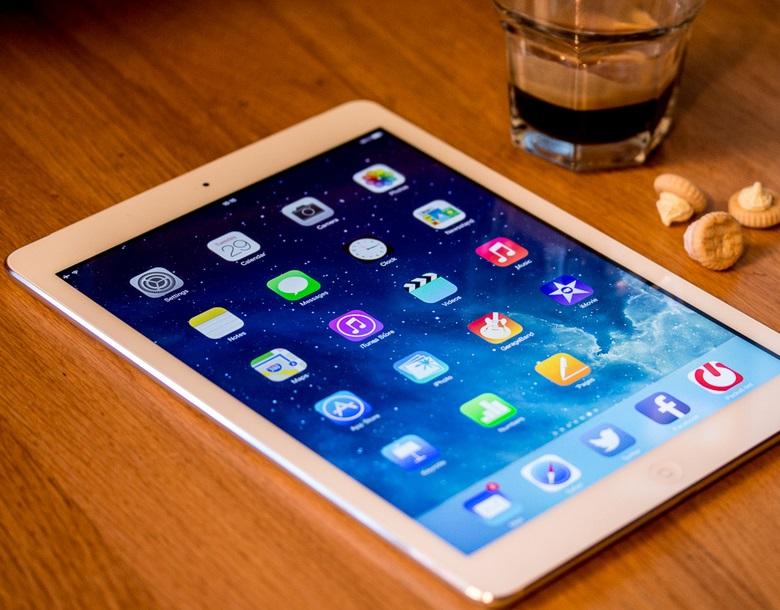 Giao diện iPad Air cũ đáp ứng nhu cầu của người dùng