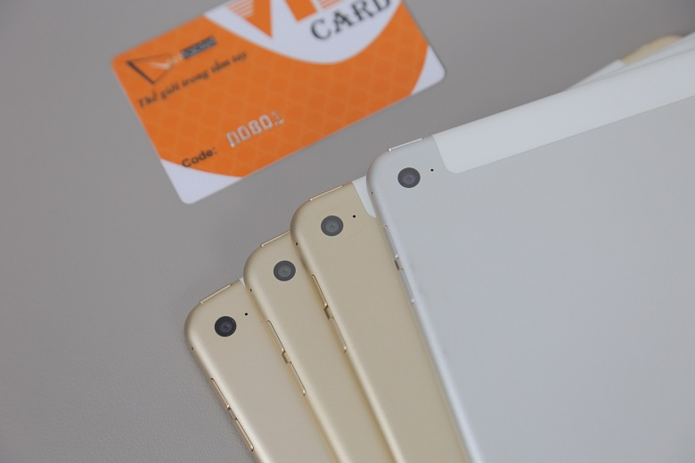 Kiểm tra camera trên iPad Air 2