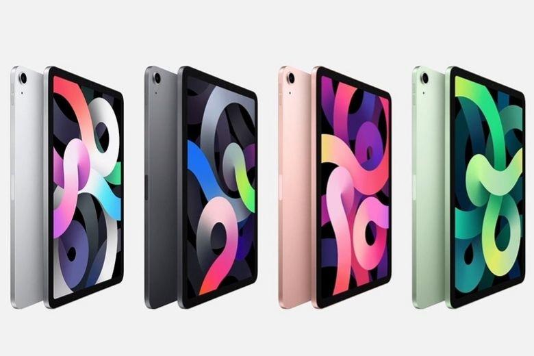 iPad Air 4 nhiều màu sắc lựa chọn