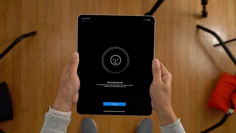 Face ID trên iPad Pro 12.9 (2018)