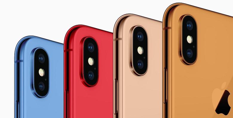 màu sắc iphone 2018