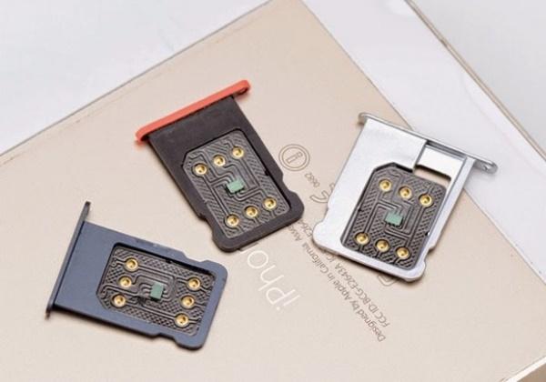 iPhone 5S Lock dùng sim ghép
