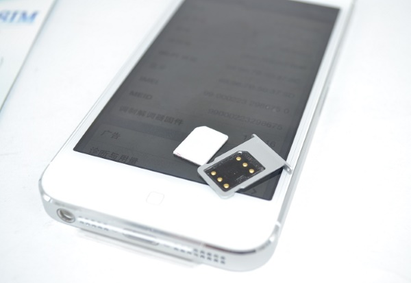 iPhone 5 Lock dùng sim ghép unlock