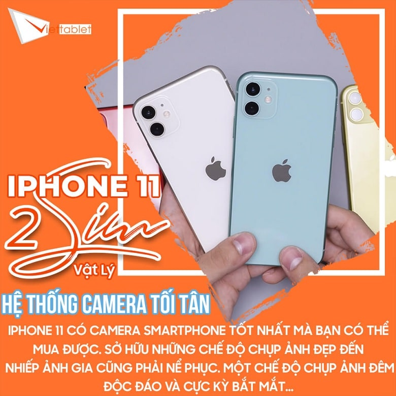 camera iPhone 11 2 SIM
