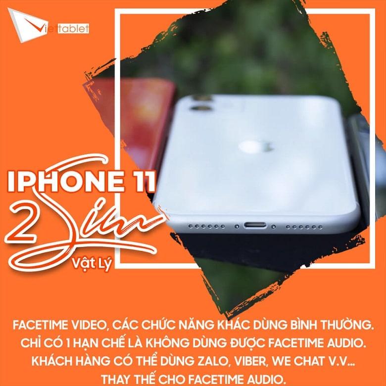 chức năng iPhone 11 2 SIM