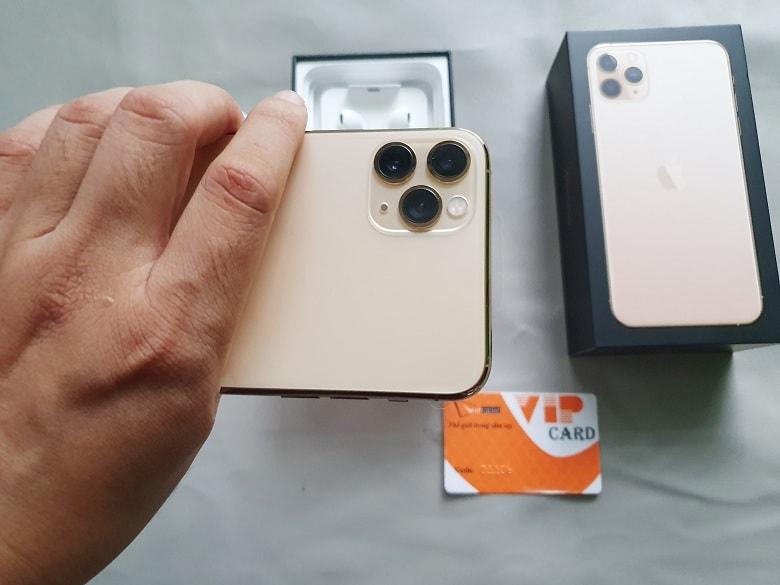 camera của iPhone 11 Pro Max 512GB xách tay