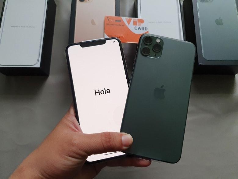 đặt mua iPhone 11 Pro Max 512GB
