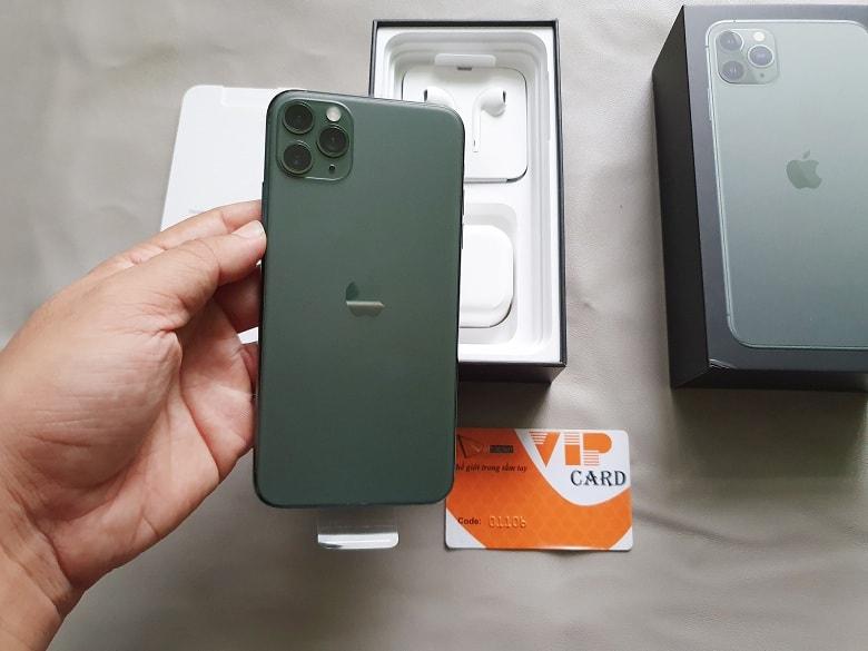 thiết kế iPhone 11 Pro Max 64GB