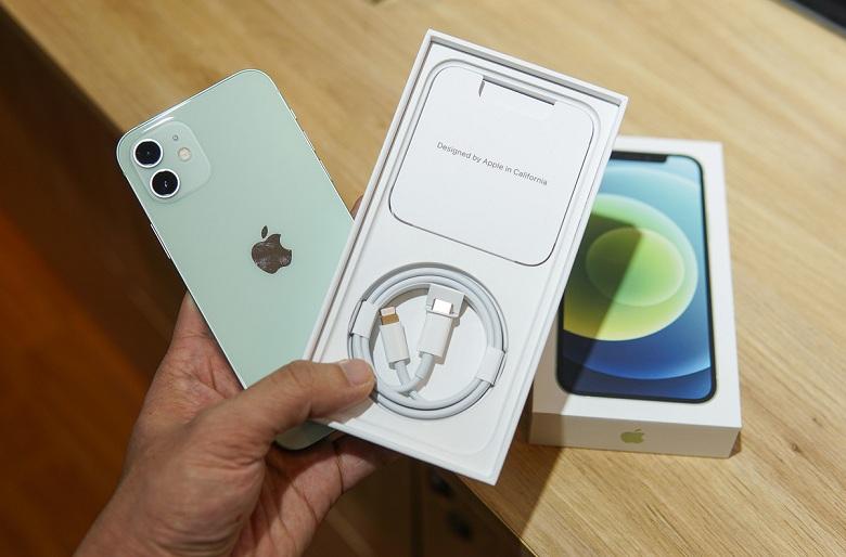 mở hộp iPhone 12 chính hãng VN/A