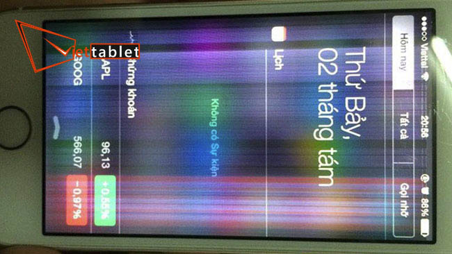 thay màn hình iphone 4s chính hãng tại tp. HCM