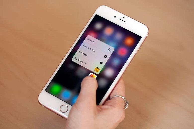 iPhone 6S Plus cũ sở hữu công nghệ cảm ứng lực touch 3D