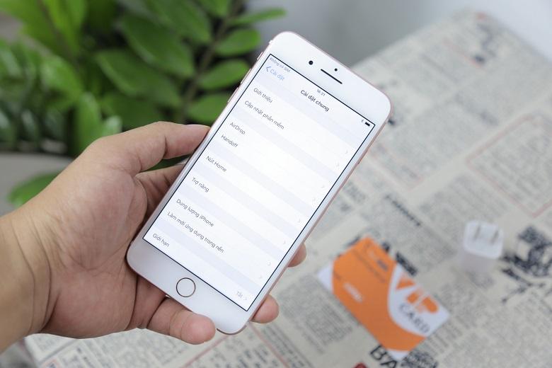 đánh giá cấu hình iPhone 7 Plus chưa active trôi bảo hành