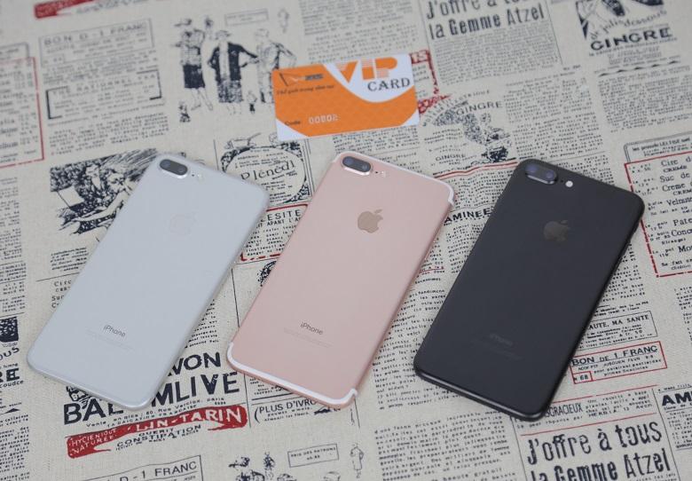 đánh giá camera iPhone 7 Plus chưa active trôi bảo hành