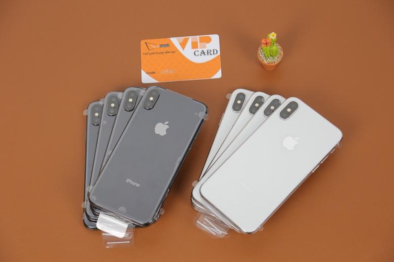 số lượng iPhone X Chưa Active