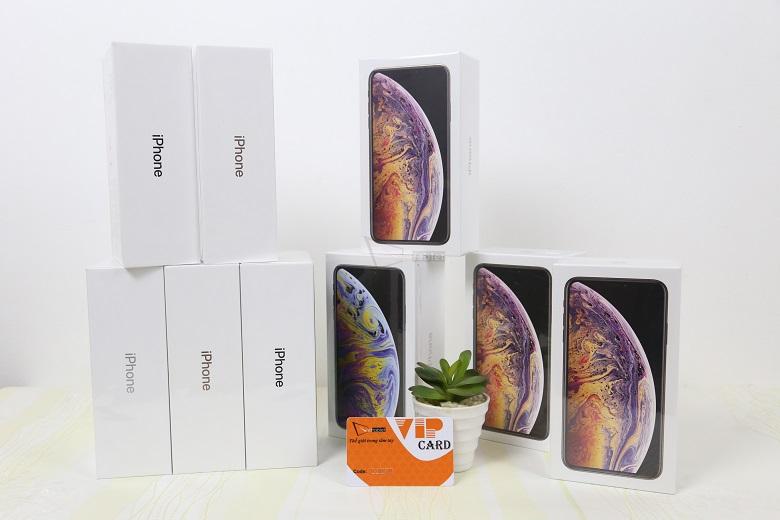 iPhone XS Max sở hữu nhiều dung lượng cho khách hàng lựa chọn