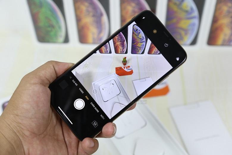 iPhone XS Max Lock có những cải tiến tuyệt vời về camera