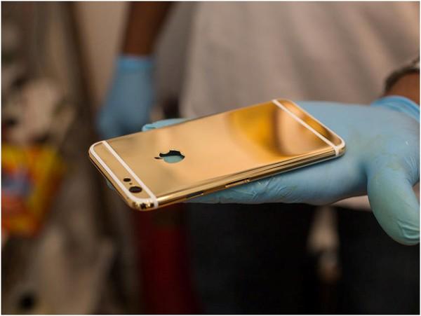 mạ vàng iPhone 6 e