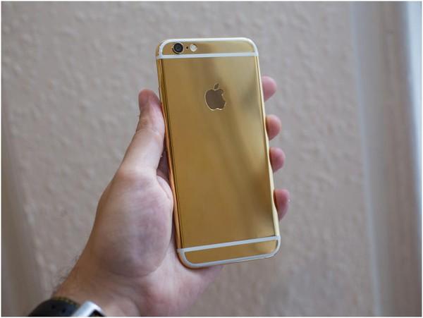 mạ vàng iPhone 6 k